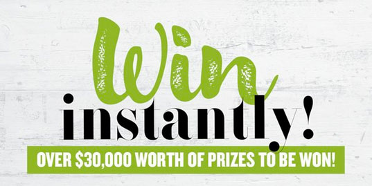 Better Homes And Gardens   Win Instantly! Over $30,000 Worth Of Prizes To  Be Won!
